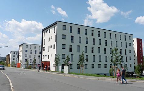 210 WE, Wirthstrasse, Hof