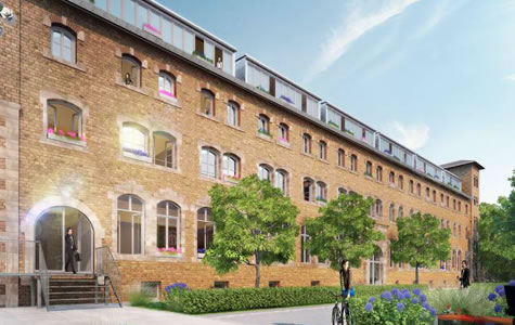 84 WE, Zollhof Studentenwohnungen Bauteil B, Nürnberg