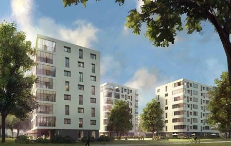 76 WE und Kita, Bachquartier, Nawiaskystraße, München